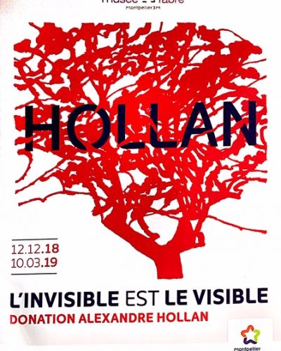 Alexandre Hollan – The invisible is visible at the Fabre Museum in Montpellier