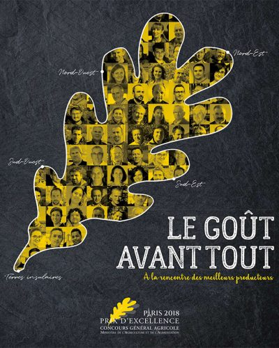 Prix Excellence 2018 Concours Général Agricole Meilleurs producteurs de France