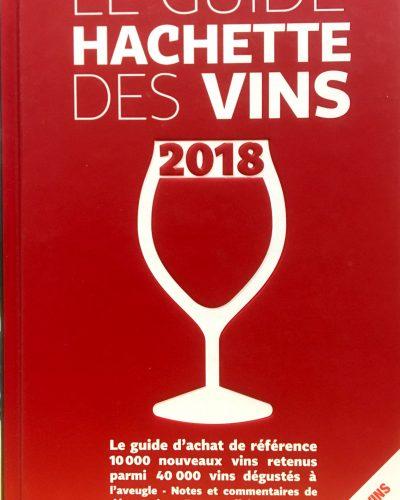 Une étoile au guideHachette Vins2018 pour la cuvée Pézenas 2014