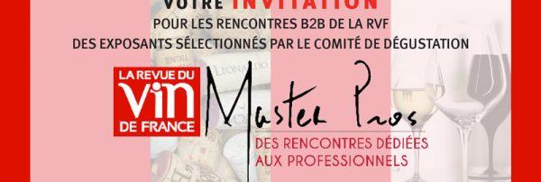 Invitation Master Pro RVF à Paris