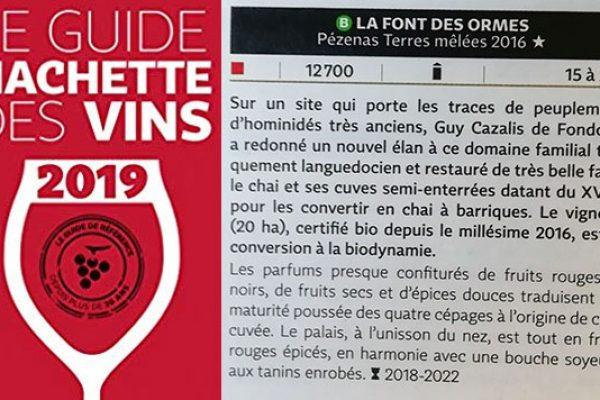 Guide des vins 2019