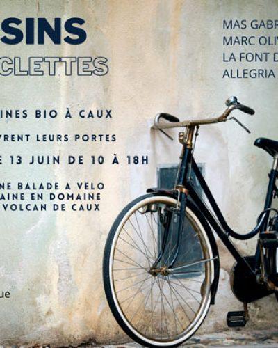 Raisins et Bicyclettes à Caux